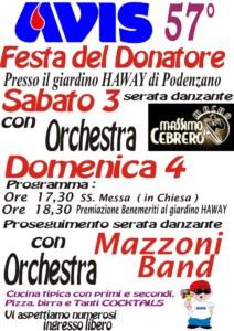 Festa Sociale Avis Podenzano @ Via Ghisoni, 13 | Ferriere | Emilia-Romagna | Italia