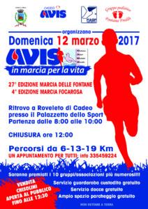 Marcia per la vita 2017 @ Palazzetto dello sport | Roveleto | Emilia-Romagna | Italia