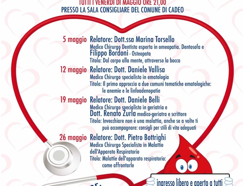 Avis Cadeo – Maggio mese della salute