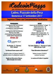Cadeo in Piazza @ Piazzale della Pesa   Cadeo   Emilia-Romagna   Italia
