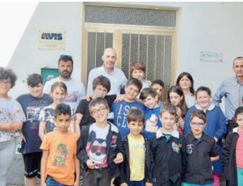 Perino, grazie ai volontari Avis, gli alunni scoprono il valore del dono