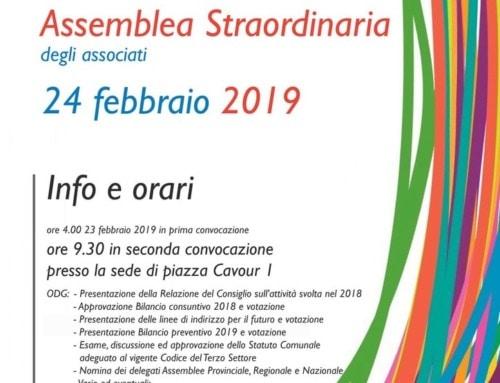 Assemblea straordinaria 2019
