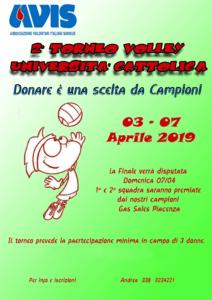 Torneo di volley @ Piacenza