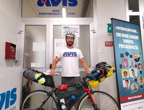 Diego, donatore e sportivo porta i colori di Avis in capo al mondo
