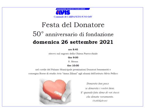 Fine settimana di sport e ricorrenze per Avis Provinciale Piacenza