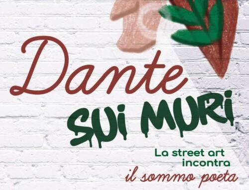 """""""Dante sui muri"""" – Avis e Associazione Diociottotrenta omaggiano il Sommo Poeta con un murale nel cuore della città"""